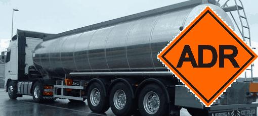 Autorización transporte mercancias peligrosas ADR